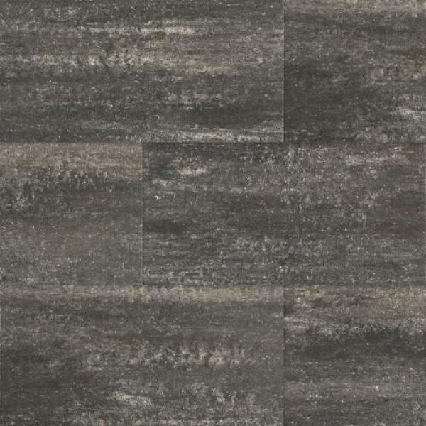 1001142 - 60Plus Soft Comfort 40x80x4 cm Grijs/Zwart - Alpha Sierbestrating