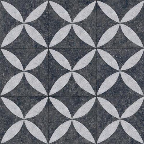 2000708 - Kera Twice 60x60x5 cm Flower Lotus - Alpha Sierbestrating