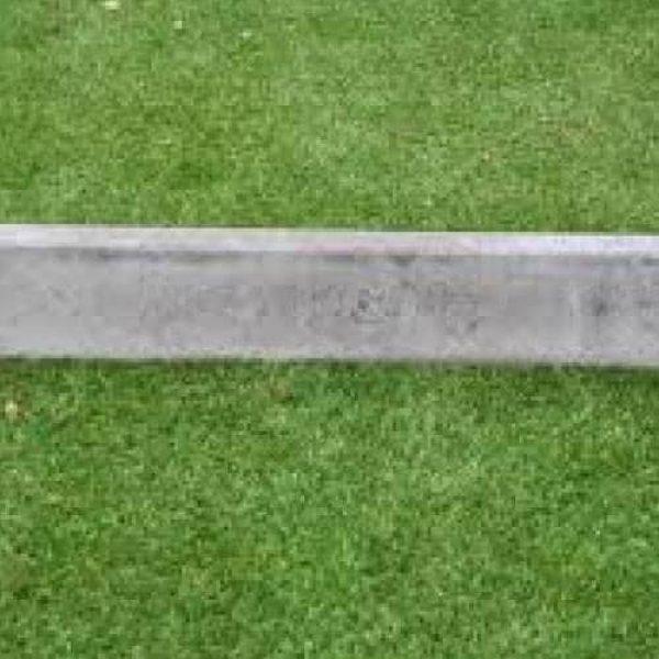 4000005 - Opsluitband 5x15x100 cm hd Grijs - Alpha Sierbestrating