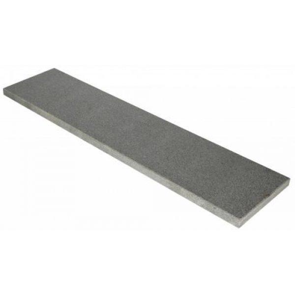 5001207 - Vijverrand 100x25x3 cm Dark Grey (6 zijdes verzoet, 8 facetranden) - Alpha Sierbestrating