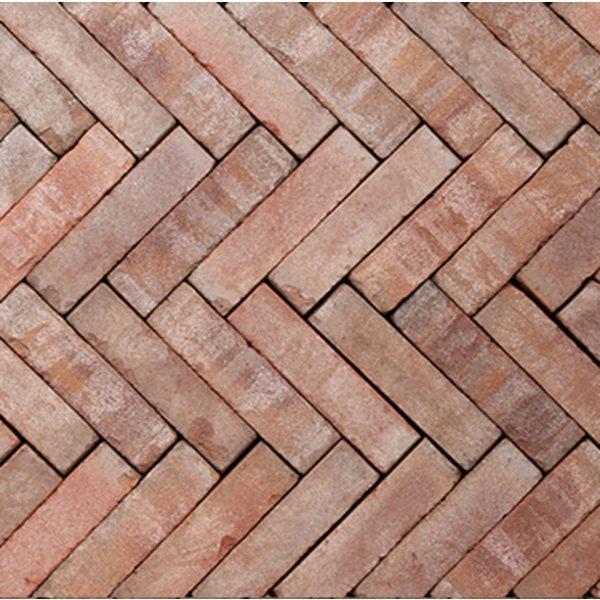Z0000125 - Rustiek waalformaat 20x5x6,5 cm Novoton Rood-bruin - Alpha Sierbestrating