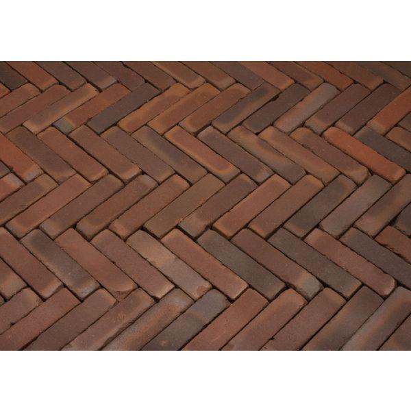 Z0000233 - Rustiek waalformaat 20x5x6 cm Liers Rood-bruin-zwart bont - Alpha Sierbestrating