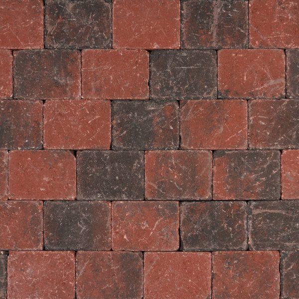 Z0000413 - Tambour 20x15x6 cm Rood-zwart - Alpha Sierbestrating