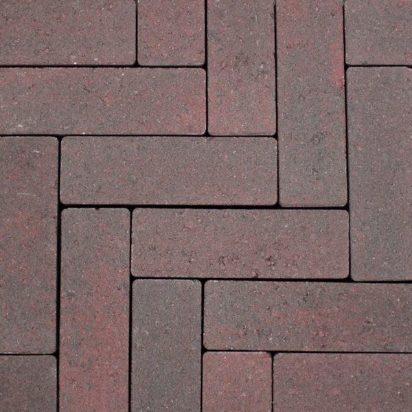 Z0000429 - Strackstone+ 21x7x8 cm Wijnrood-havanna - Alpha Sierbestrating