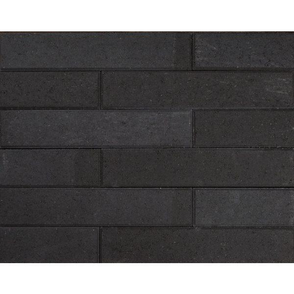 Z0000686 - Wallblock Facet 60x12x12 cm Antraciet - Alpha Sierbestrating