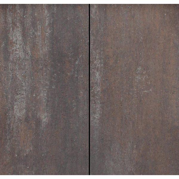 Z0000729 - Metro Vlaksteen 40x20x4 cm Grijs-bruin-zwart - Alpha Sierbestrating