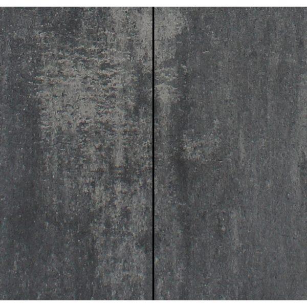 Z0000730 - Metro Vlaksteen 40x20x4 cm Grijs-zwart - Alpha Sierbestrating