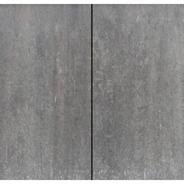 Z0000732 - Metro Vlaksteen 40x20x4 cm Grijs-zwart-roze - Alpha Sierbestrating