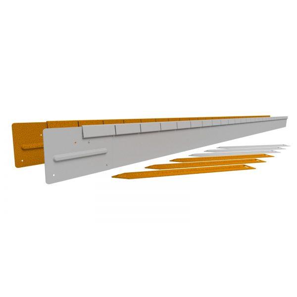 Z0000848 - Flexline 10 cm Corten - Alpha Sierbestrating