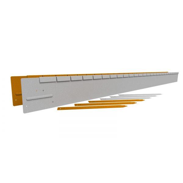 Z0000849 - Flexline 15 cm Corten - Alpha Sierbestrating