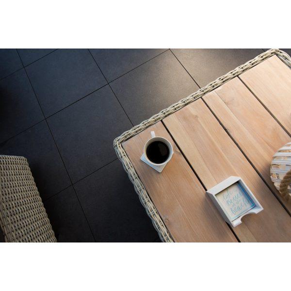 Z0002312 - Atlanta 60x60x2 cm Betonlook Antraciet - Alpha Sierbestrating