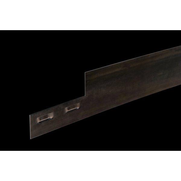 Z0002326 - Col-Met kantopsluiting 15,2 cm Verzinkt - Alpha Sierbestrating