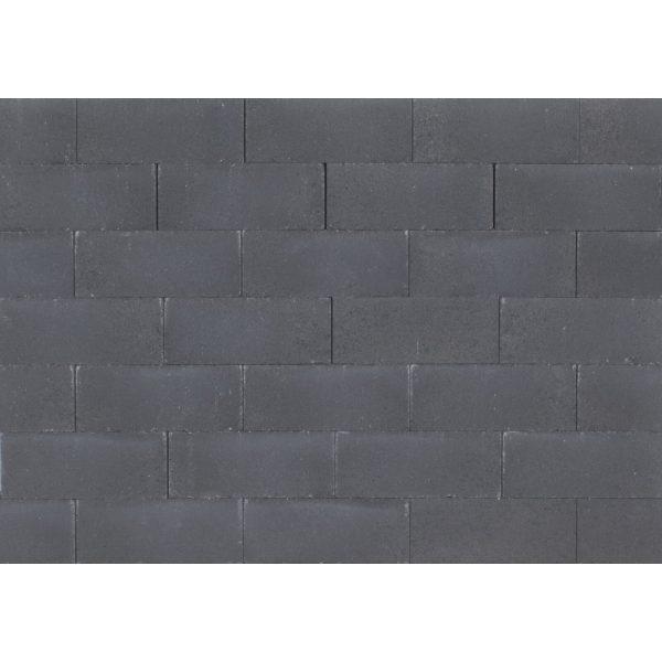 Z0002727 - Wallblock New 30x12x10 cm Antraciet - Alpha Sierbestrating