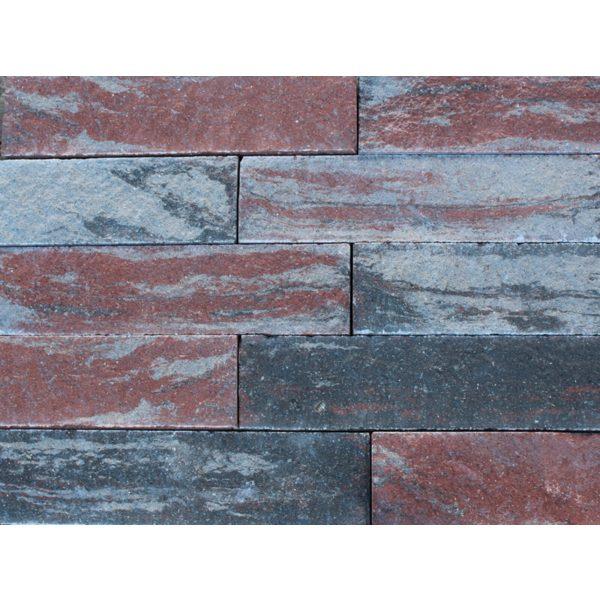 Z0002805 - Wallblock Split 60x12x15 cm Twents bont - Alpha Sierbestrating