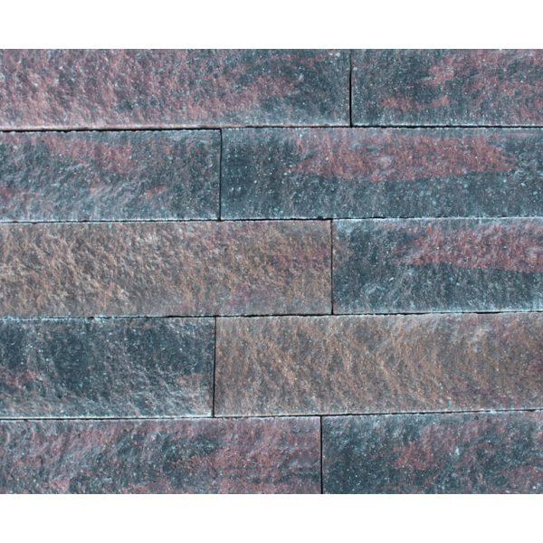 Z0002871 - Wallblock Split 60x12x15 cm Oud bont - Alpha Sierbestrating