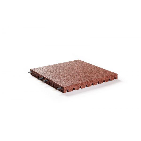 Z0003289 - Veiligheidstegel 50x50x4 cm Rood - Alpha Sierbestrating
