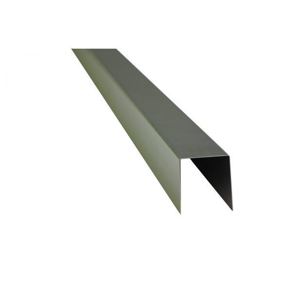 Z0003636 - Randbescherming tbv band van 5 cm breed Inox - Alpha Sierbestrating