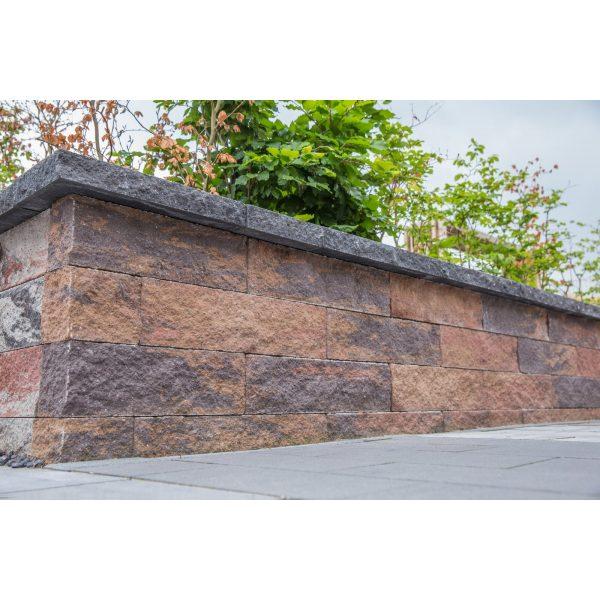 Z0004031 - Wallblock Split 60x12x15 cm Oud bont - Alpha Sierbestrating