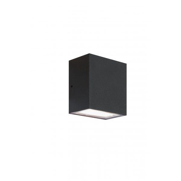 Z0004750 - Eclipse square up/down Zwart 230v - Alpha Sierbestrating