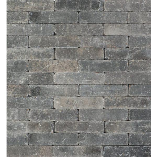 Z0005729 - Metro Trommelsteen 20x5x7 cm Grijs-zwart - Alpha Sierbestrating