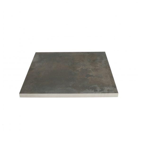 Z0005746 - Cerasolid 60x60x3 cm Metalico Antra - Alpha Sierbestrating