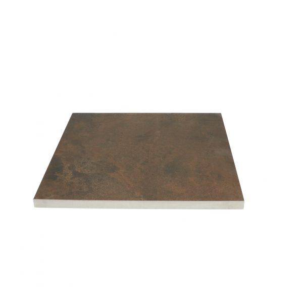 Z0005748 - Cerasolid 60x60x3 cm Metalico Brown - Alpha Sierbestrating